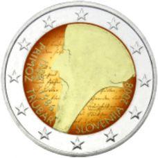 Slovenia 2008 2 € Primoz Trubar VÄRITETTY
