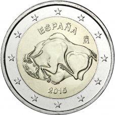 Espanja 2015 2 € Altamira UNC