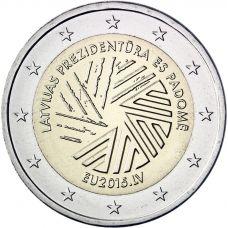 Latvia 2015 2 € EU-puheenjohtajuus UNC