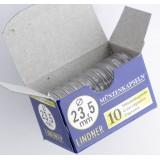 Säilytyskapseli, Lindner 23,5 mm 1 € (10 kpl)