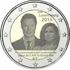 Luxemburg 2015 2 € Henri UNC