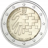 Portugali 2015 2 € Punainen risti 150 vuotta UNC