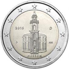 Saksa 2015 2 € Paavalinkirkko D UNC