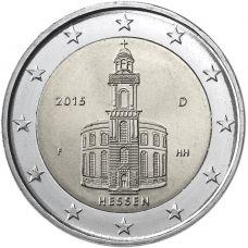 Saksa 2015 2 € Paavalinkirkko F UNC