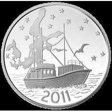Suomi 2011 20 € Itämeren suojelu HOPEA BU