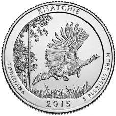 "USA 2015 $0,25 Louisiana Kisatchie National Forest ""D"" UNC"
