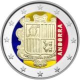 Andorra 2014 2 € VÄRITETTY