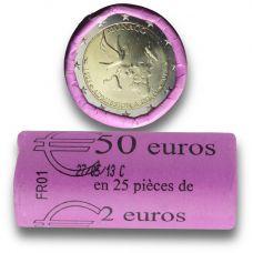 Monaco 2013 2 € YK:n jäsenenä 20 vuotta RULLA