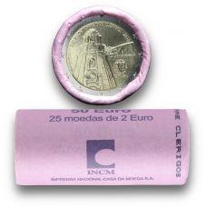 Portugali 2013 2 € Torre dos Clérigos RULLA