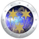 Slovenia 2014 2 € Barbara Celjska 600v VÄRITETTY