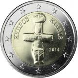 Kypros 2014 2 € UNC