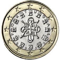 Portugali 2002 1 € UNC