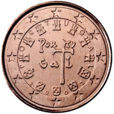 Portugali 2002 5 c UNC