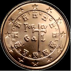 Portugali 2004 1 c UNC
