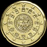 Portugali 2004 20 c UNC