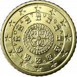 Portugali 2004 50 c UNC