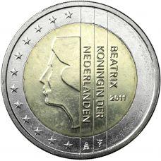 Alankomaat 2011 2 € UNC