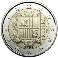Andorra 2014 2 € UNC