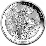 Australia 2014 1 Dollar Kookaburra 1 Unssi HOPEA