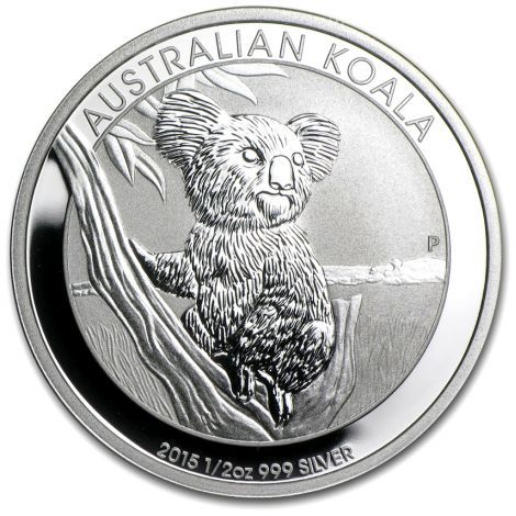 Australia 2015 50 Cents Koala 1/2 Unssi HOPEA