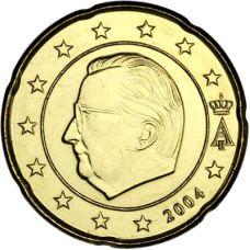 Belgia 2004 20 c UNC