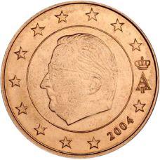 Belgia 2004 5 c UNC