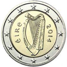Irlanti 2014 2 € UNC