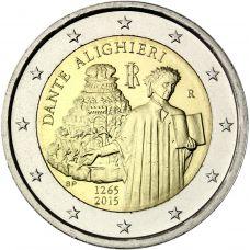 Italia 2015 2 € Dante Alighieri UNC