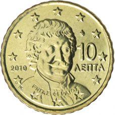 Kreikka 2010 10 c UNC