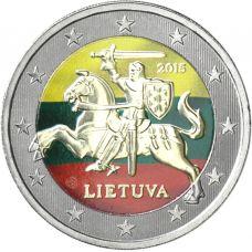 Liettua 2015 2 € VÄRITETTY
