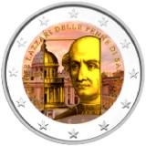 San Marino 2014 2 € 500 vuotta Donato Bramanten kuolemasta VÄRITETTY