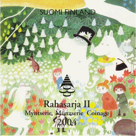 Suomi 2004 Rahasarja II Muumi BU