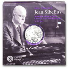 Suomi 2015 10 € Jean Sibelius HOPEA PROOF