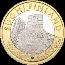 Suomi 2015 5 € Maakuntien eläimet Uusimaa UNC