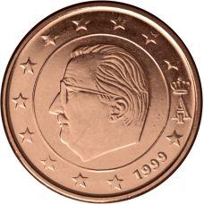 Belgia 1999 5 c UNC