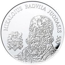 Liettua 2015 20 € Mikalojus Radvila Juodasis HOPEA PROOF
