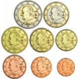 Belgia 2011 1 c – 2 € Irtokolikot UNC