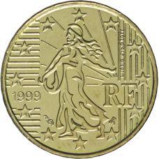 Ranska 1999 10 c UNC
