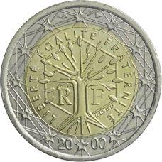 Ranska 2000 2 € UNC