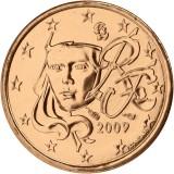 Ranska 2009 1 c UNC