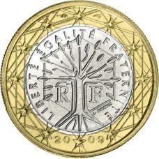 Ranska 2009 1 € BU