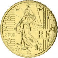Ranska 2009 10 c UNC