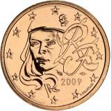 Ranska 2009 5 c UNC