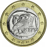 Kreikka 2002 1 € UNC