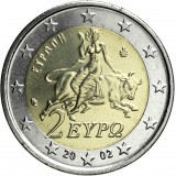 Kreikka 2002 2 € UNC