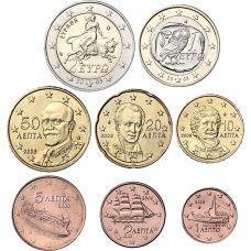 Kreikka 2003 1 c – 2 € Irtokolikot UNC
