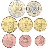 Kreikka 2011 1 c – 2 € Irtokolikot UNC