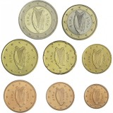 Irlanti 2005 1 c – 2 € Irtokolikot UNC