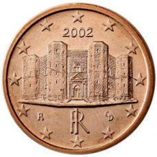Italia 2002 1 c UNC