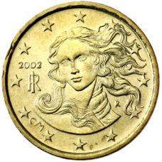 Italia 2002 10 c UNC
